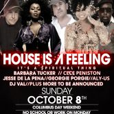 House Is A Feeling (Chicago Tour Date)